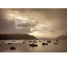 The Soft Light of Morning, Portree, Skye Photographic Print