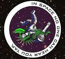Jiu-Jitsu - Alien Vs Astronaut by BadPine