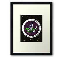 Jiu-Jitsu - Alien Vs Astronaut Framed Print