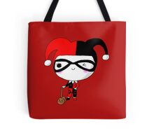 Kawaii Inspired Harleyquinn Vintage Outfit Classic Cute Tote Bag