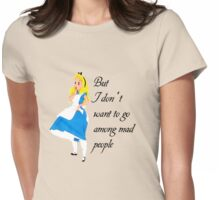 Alice Amongest The Mad Womens Fitted T-Shirt