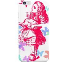 Alice in Flight iPhone Case/Skin