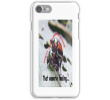 That eerie feeling someone is watching you… iPhone Case/Skin