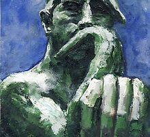 El Pensador, Auguste Rodin 1903 by Randy Sprout