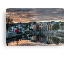 Cork Sunset Metal Print