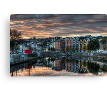 Cork Sunset Canvas Print