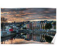 Cork Sunset Poster