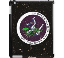 Jiu-Jitsu - Alien Vs Astronaut iPad Case/Skin