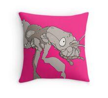 intrepid bug Throw Pillow