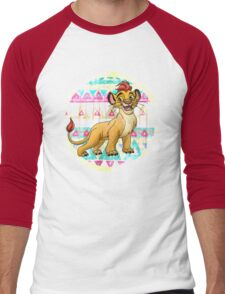 Lion Prince Men's Baseball ¾ T-Shirt