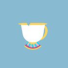Chipped Tea Cup by memorytree