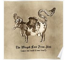 The Winged Cow From Hell Poster
