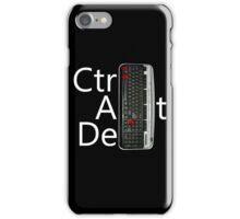 CtrlAltDel iPhone Case/Skin