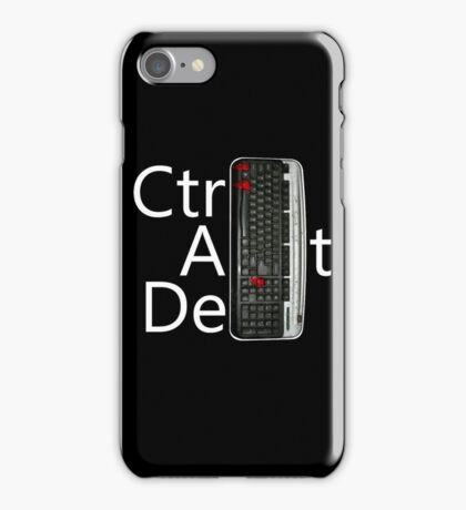 CtrlAltDel iPhone Case/Skin