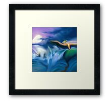 Tell Him- abstract-art+Product Design Framed Print