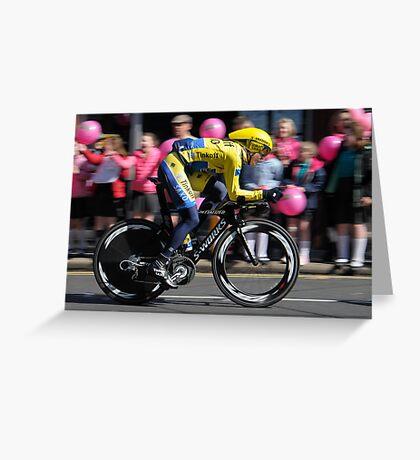 Giro d'Italia - In Belfast Greeting Card