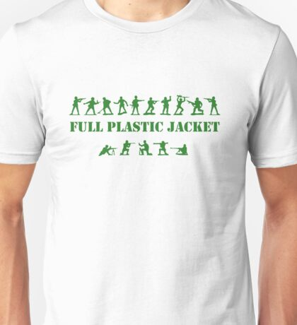 Green Army - Full Plastic Jacket Unisex T-Shirt