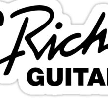 B.C. RICH GUITAR Sticker