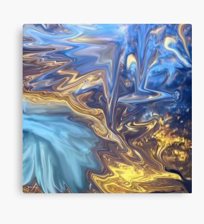 Only Time-  Abstract 139-art+Product Design Canvas Print
