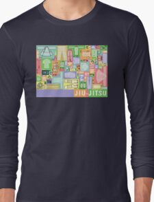 Jiu-Jitsu Gear Layout Long Sleeve T-Shirt