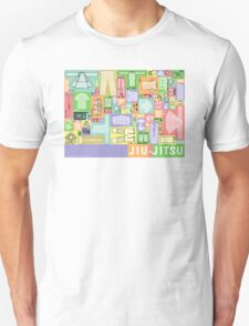 Jiu-Jitsu Gear Layout Unisex T-Shirt