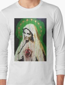 """""""Our Lady of Roosevelt Island"""" Long Sleeve T-Shirt"""