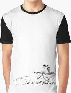 Paperman - Fate will find its way Graphic T-Shirt