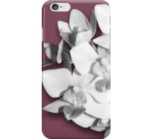 Pretty in Pink, Orchid Photography Art iPhone Case/Skin