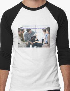 新世紀エヴァンゲリオン Men's Baseball ¾ T-Shirt