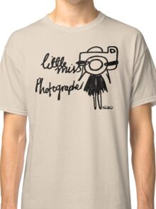 Little Miss Photographer Classic T-Shirt