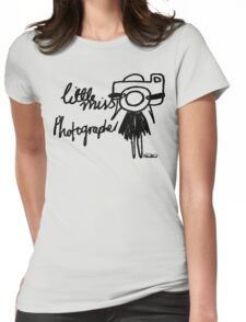 Little Miss Photographer Womens Fitted T-Shirt