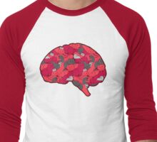 This is your brain...on CATS! Men's Baseball ¾ T-Shirt