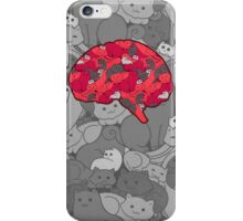 This is your brain...on CATS! iPhone Case/Skin