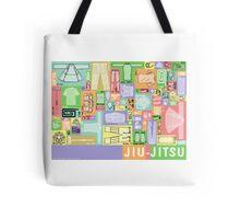 Jiu-Jitsu Gear Layout Tote Bag