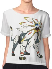 POKEMON SUN AND MOON - SOLGALEO Chiffon Top
