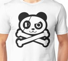 Pirate Panda Eye-Patch Unisex T-Shirt