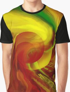 Life flowing - Abstract-wall art+Product Design Graphic T-Shirt