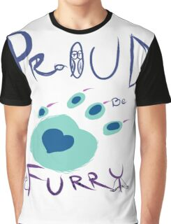 Proud To Be Furry Graphic T-Shirt