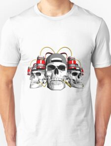 Partying Skulls T-Shirt