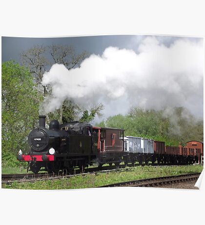 Jinty Freight Poster