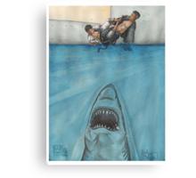 JITS - Mat is Ocean - UNLETTERED Canvas Print