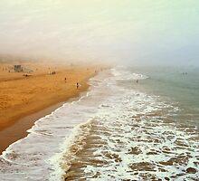 Manhattan Beach On An Early Morning by Glenn McCarthy
