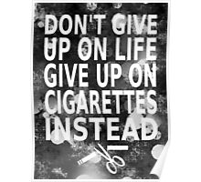 Don't give up Poster