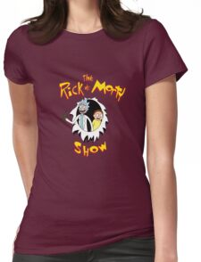 The Rick & Morty Show! Womens Fitted T-Shirt