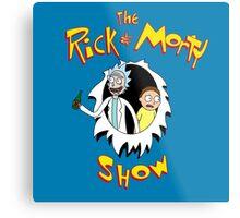 The Rick & Morty Show! Metal Print