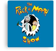 The Rick & Morty Show! Canvas Print