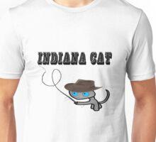 Indiana Cat Unisex T-Shirt