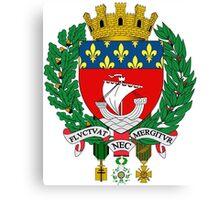 Coat of Arms of Paris Canvas Print