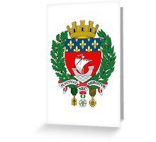 Coat of Arms of Paris Greeting Card