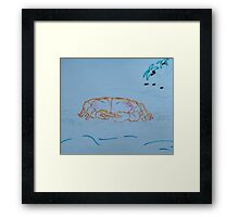 The Crab Framed Print